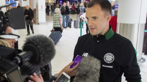 Celtic assistant manager Chris Davies