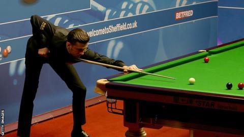Marco Fu hit back against Neil Robertson at the Crucible