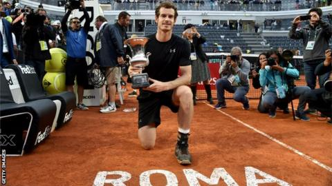 Andy Murray wins in Rome