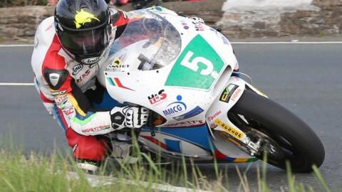Bruce Anstey will be aiming for 250 success at the Ulster Grand Prix next month