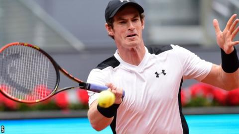 Murray through to Madrid Open last four