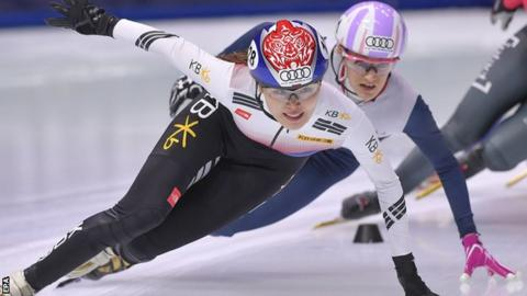 Choi completes clean sweep on way to fourth gold medal at ISU Short Track World Cup