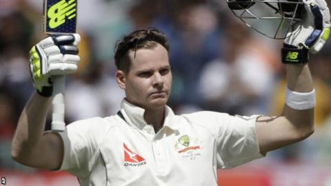 Australia captain Steven Smith