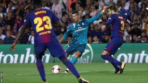 Real Madrid Set For Barcelona Clash In Spanish Cup