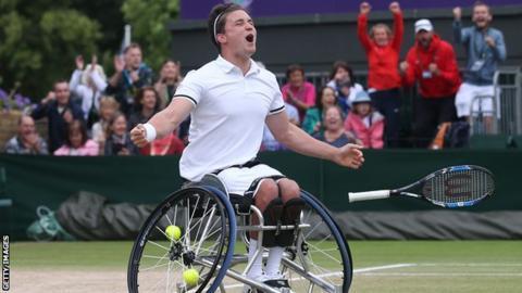 Gordon Reid is the defending champion at Wimbledon