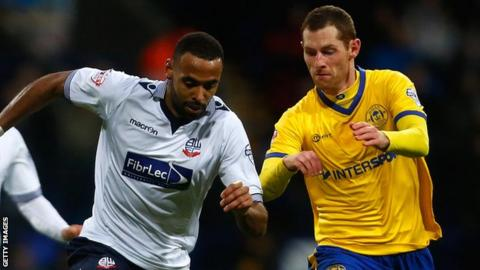 Liam Trotter of Bolton