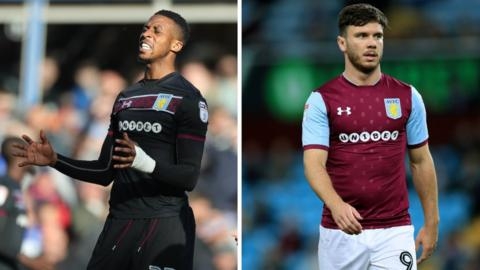 Jonathan Kodjia and Scott Hogan have only scored one league goal between them this season