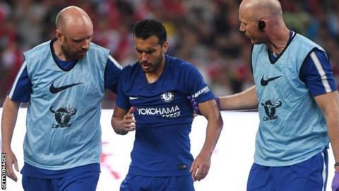 Blues boss lifts lid on Pedro injury