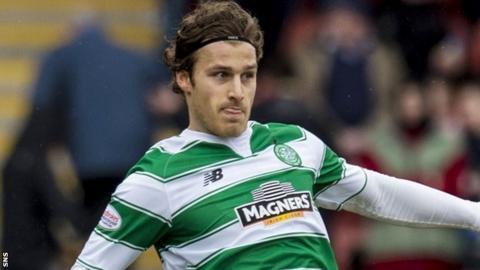 Celtic defender Erik Sviatchenko