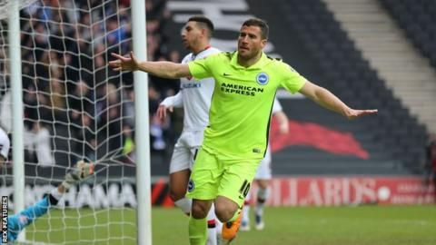 Brighton match-winner Tomer Hemed