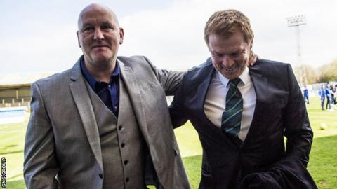 Jim Duffy and Neil Lennon