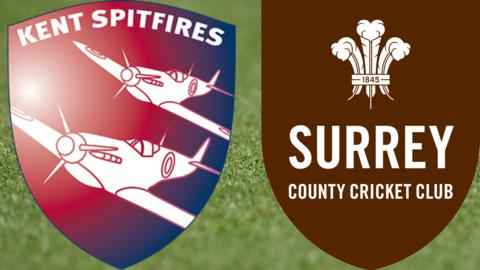 Kent Spitfires v Surrey