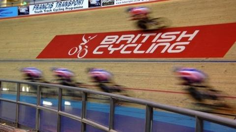 British cyclists in action