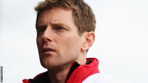 Toyota's Anthony Davidson