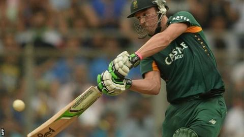 AB de Villiers hits out against India