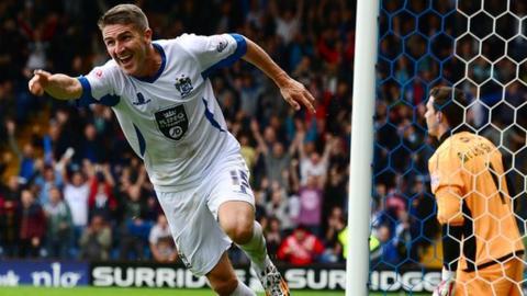 Ryan Lowe has scored 70 of his 202 career goals in a Bury shirt