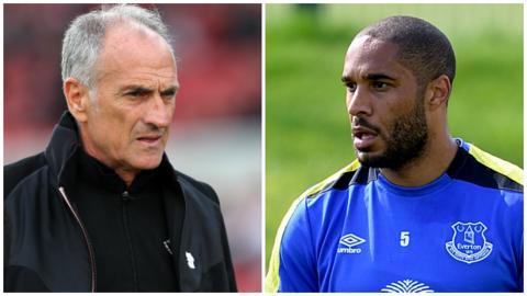 Francesco Guidolin and Ashley Williams
