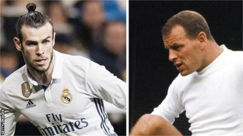 Gareth Bale and John Charles