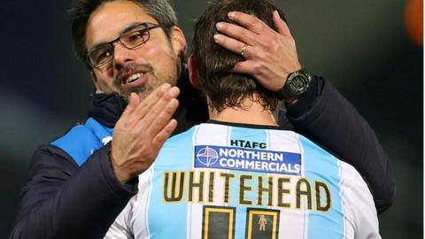 Huddersfield midfielder Dean Whitehead is in line to make his return after suspension
