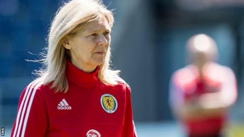 Scotland Women head coach Anna Signeul
