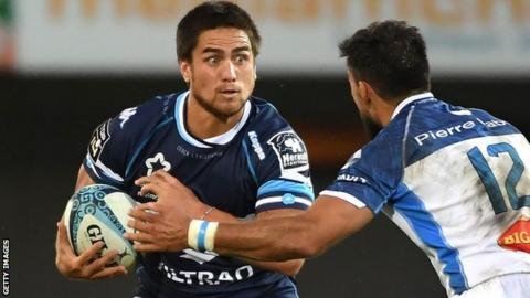 Ben Botica in action for Montpellier