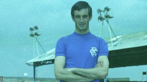 Davie Provan played for Rangers between 1958 and 1970