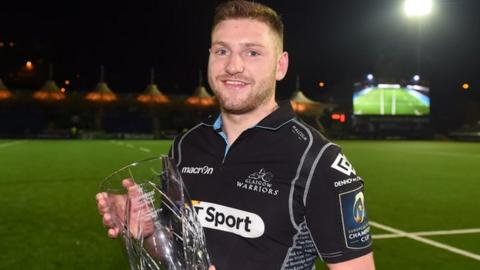 Glasgow and Scotland's Finn Russell