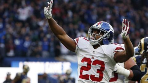 Rashad Jennings celebrates