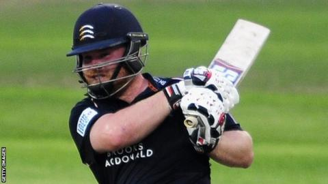 Middlesex opener Paul Stirling