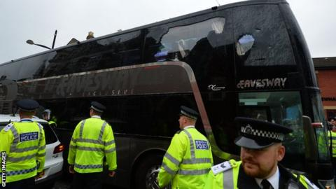 Manchester United team coach
