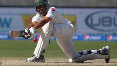 Pakistan batsman Younus Khan