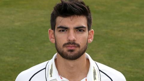 Warwickshire and Scotland batsman Andy Umeed