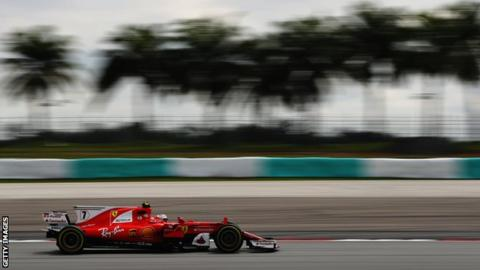 Mercedes off pace in Malaysia as Grosjean crashes