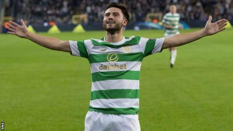 Patrick Roberts aims to improve for Brendan Rodgers