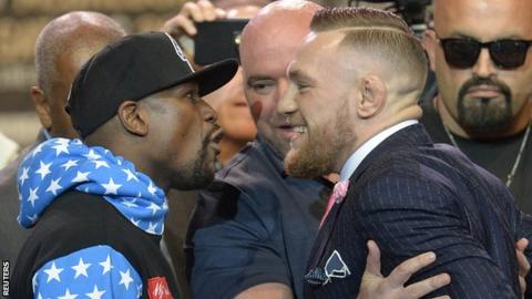 Floyd Mayweather v Conor McGregor: UFC champion's knockout prediction in LA