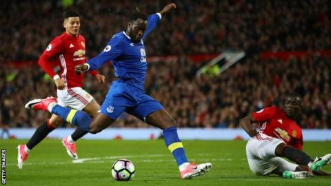 Man Utd sign £75m striker Lukaku from Everton