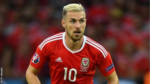 Chris Coleman surprised Aaron Ramsey played for Arsenal in opener