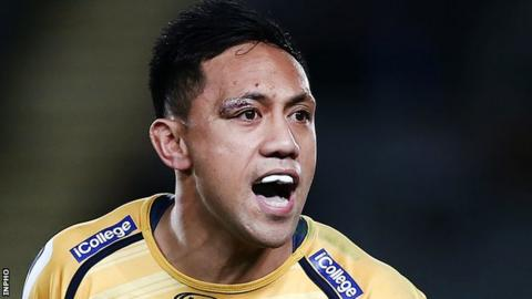 Christian Lealiifano makes first Ulster start in PRO14 victory