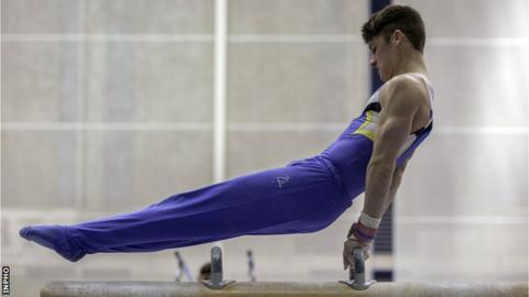 Larduet tops men's all-around qualification at Artistic Gymnastics World Championships