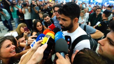 It's not the way I wanted to leave Chelsea - Costa