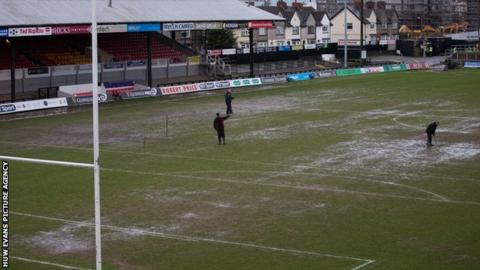 Rodney Parade rugby ground