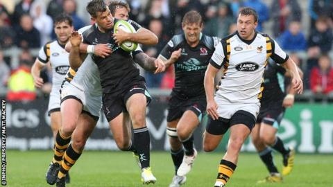 Wasps outscored Ulster by four tries to two in a preseason friendly at the Kingspan Stadium in August
