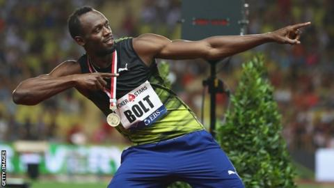 I'm still the fastest in the world - Bolt