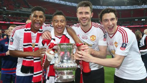 Manchester United win FA Cup