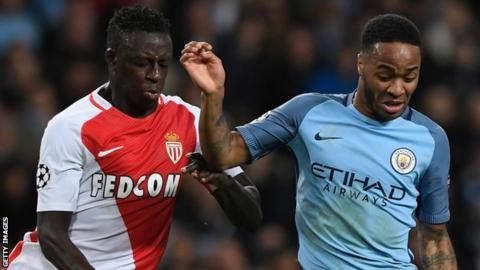 Man City agree £52m deal for Monaco left-back Mendy