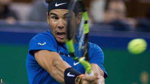 Shanghai Masters: Rafael Nadal to play Roger Federer in final