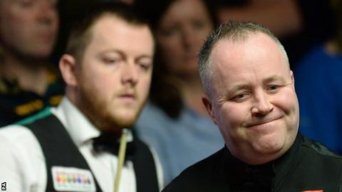 Mark Allen and John Higgins