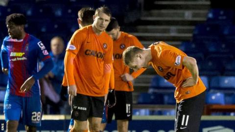 United were denied a crucial win by a last-gasp Inverness equaliser