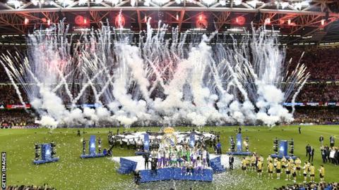 FA could bid for Champions League final as part of ambitious UK Sport hosting plans