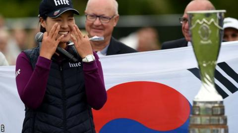 Chun, Park go low at Evian